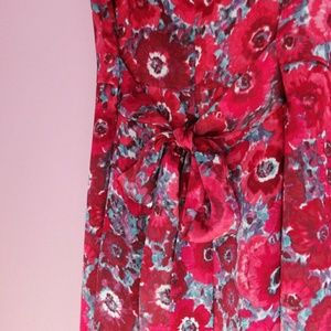 Brooks Brothers 346 Floral Dress